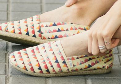 Espadrilles shoes for woman: classic textures throughout time