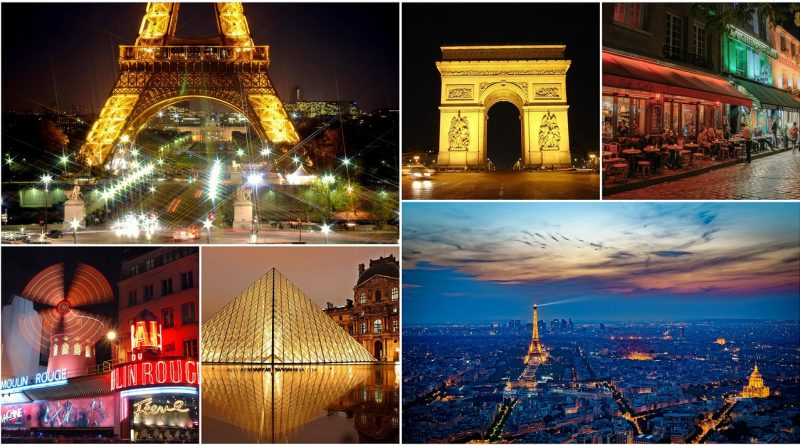 Travel by train to France and knows up close the city of love